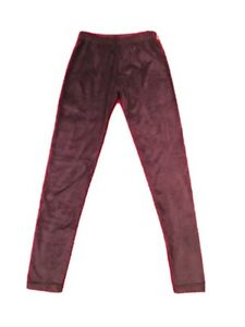 Faux Suede Legging Purple Girl Or Junior Size S