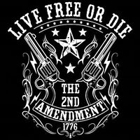 2nd Amendment 1776 W/Crest tee Shirt T shirt Big and Tall Small Pro Club