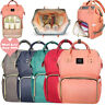 2019 Waterproof Mummy Bag Baby Maternity Diaper Nappy Large Travel Bags MOM Gift