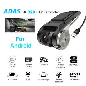Auto DVR Kamera HD Video Registrator USB Night Vision Dash Kamera für Android