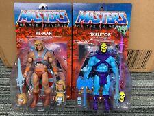 Club Grayskull Ultimate HE MAN and SKELETOR  super7 NO MAILER BOXES