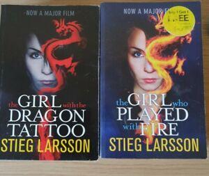 2 x Stieg Larsson Books
