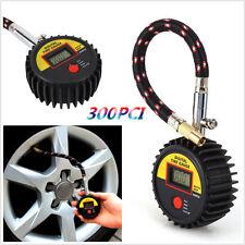 Motorcycle Car Bike 300 PSI Digital Tire Tyre Air Pressure Gauge Meter Tester EP