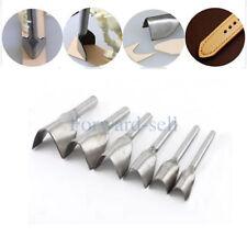 15-40MM DIY Metal Leather Craft Tools Half-V Cutter Punch Strap Belt Wallet End