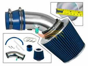 BCP BLUE For 1990-1997 Prizm/Corolla 1.6L/1.8L L4 Ram Air Intake Kit+Filter