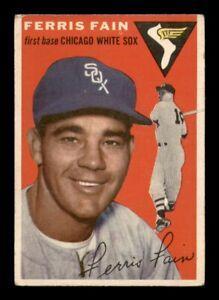 1954 Topps Set Break #27 Ferris Fain VG *OBGcards*