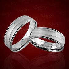 2 Trauringe 925 Silber GRAVUR + Etui Eheringe Verlobungsringe Partnerringe pr35