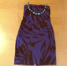 EXPRESS Studio Design Blue Cocktail Dress Size 6