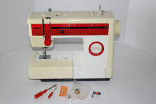 Vintage Red BROTHER VX808 Convertible Free Arm Sewing Machine w Accessories