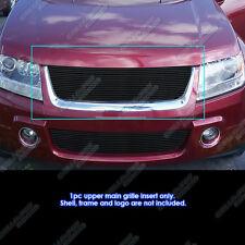 Fits 06-2011 Suzuki Grand Vitara Black Main Upper Billet Grille Insert