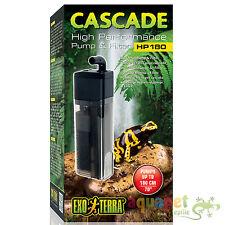 Exo Terra Reptile Cascade High Performance Pump Filter for Waterfall, Irrigation