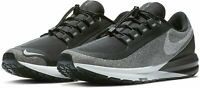 NIKE WOMENS AIR ZOOM STRUCTURE 22 RN SHIELD - UK 6.5/US 9/EUR 40.5 - GREY/BLACK