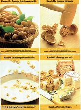 PUBLICITE ADVERTISING 125  1980  Rambol le fromage aux noix