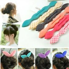 2pcs Magic Sponge Hair Twist Styling Clip Stick Bun Maker Braid Hair Accessories