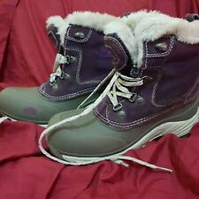 The North Face Purple Heat Seeker Boots Size 36 / 3