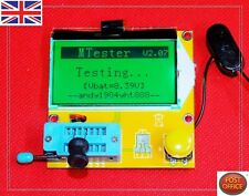 Mega 328ESR Meter LCR DEL Transistor Testeur Diode Triode Capacitance MOS PNP/NPN