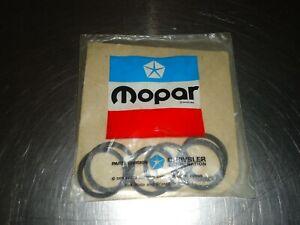 6) New NOS Mopar Spark Plug Tube Seal 1947708 Dodge Chrysler Plymouth