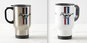 Mustang ford gt500 deluxe gift travel mug 14oz 293211