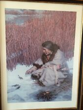 The Hunter - Extremely Rare L/E S/N 196/1000 Print by Cowboy Artist Tom Lovell