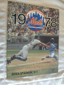 1978 NEW YORK METS BASEBALL TEAM YEAR BOOK *