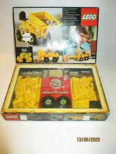 RARE ANCIENNE BOITE LEGO 850 CHARIOT ELEVATEUR VINTAGE 1977 BOITE + NOTICE
