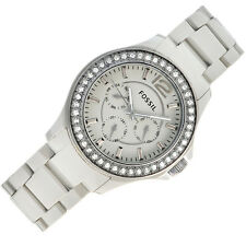FOSSIL WOMEN'S CHRONOGRAPH CERAMIC GREY EDITION WATCH CE1062