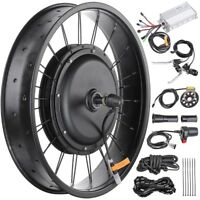 """48V 1000W 20"""" Front Wheel Electric Bicycle Motor Conversion Kit for Fat Tire"""