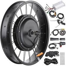 "48V 1000W 20"" Front Wheel Electric Bicycle Motor Conversion Kit for Fat Tire"