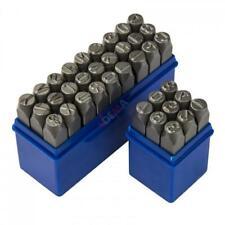 Chiffres et lettres à frapper 10 mm 36 pièces D18501
