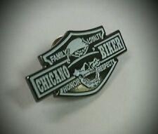 Hat Vest Chicano Biker Cholo  Design  Button Badge Pin Metal