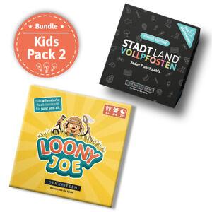 DENKRIESEN - Kids Pack 2 - SLV Kartenspiel Junior Edition + Loony Joe