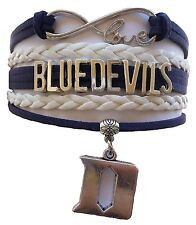 Duke University Blue Devils College Infinity Bracelet Jewelry Apparel