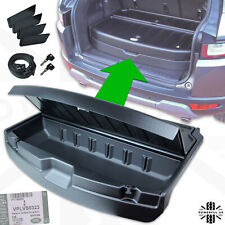 Genuine Evoque locking Loadspace Organiser Box storage boot trunk tidy mat liner