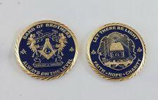 "2"" Masonic Coin(LTBL)"