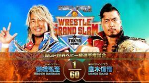 NJPW Wrestle Grand Slam In Tokyo Dome 2021 DVD New Japan Wrestling English