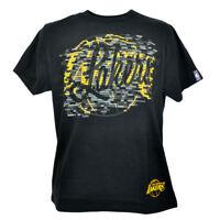 NBA Unk Los Angeles Lakers LA  Brick Breaker Basketball Tshirt Tee Black Shirt