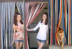PVC Strip Door Curtain 81 x 20