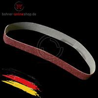 5x Bandschleifer Schleifbänder Schleifband Schleifpapier 25x762mm Körnung 180