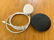 Google Home Mini Smart Assistant - Charcoal