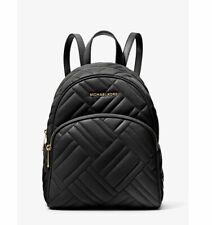 NWT MICHAEL KORS Abbey Medium Quilted Leather Backpack