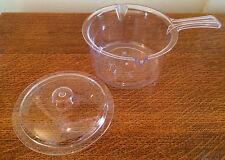 FORNO a microonde con coperchio Casseruola antimacchia da zuppa di latte di calore servire LIQUIDO Coperchio Kitchen Aid