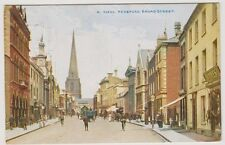 Herefordshire postcard - Hereford, Broad Street - P/U 1913