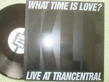 "The KLF Featuring The Children Of The Revolution What Time Is Love? 12"" Single"