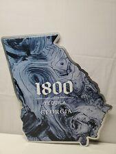 "1800 Tequila Blue Tin Sign-Georgia State 21-3/8"" x 19""-Bar-Tavern-Man Cave"