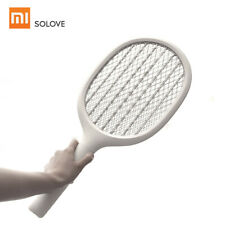 Solove P1 Electric Mosquito Swatter Insect Tennis Racket UV Zapper Repeller V6N7