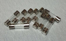 10Pcs 1A Glass Fuse M205 5mm x 20mm Slow Blow T1AL 250V