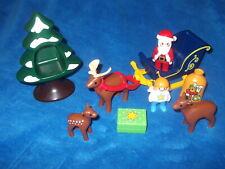 Playmobil 123 1 2 3 First Smile Schlitten Weihnachten Nr. 6787 Weihnachtsmann