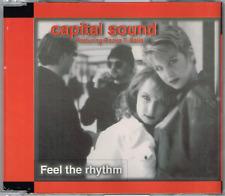 CAPITAL SOUND - Feel the rhythm CDM 1996 - CD MAXI - AUSTRALIA Euro House RARE!!