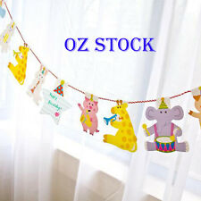 AU 2.2M Party Bunting Banner Flags Party Garland Decoration Animal Baby Shower