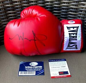 MIGUEL COTTO SIGNED EVERLAST BOXING GLOVE AUTO PSA DNA & OA AUTHENTICATED